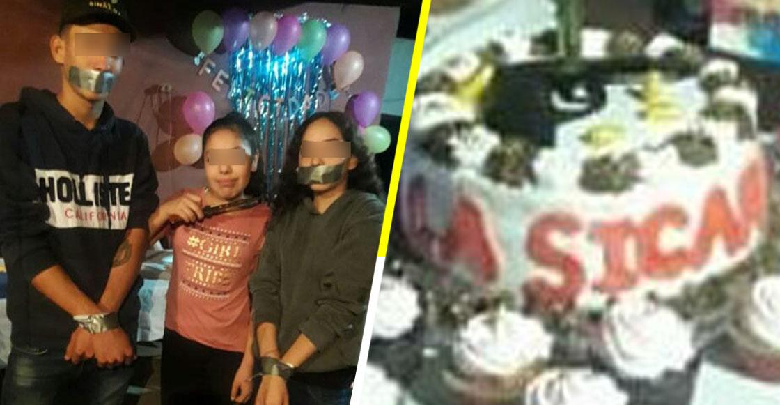 Mundo enfermo y triste: Niña arma su fiesta de cumpleaños con temática de