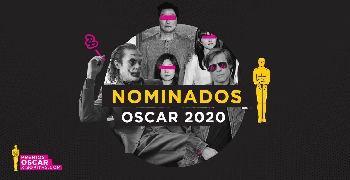 ¡Estas son las películas y artistas nominados a los premios Oscar 2020!