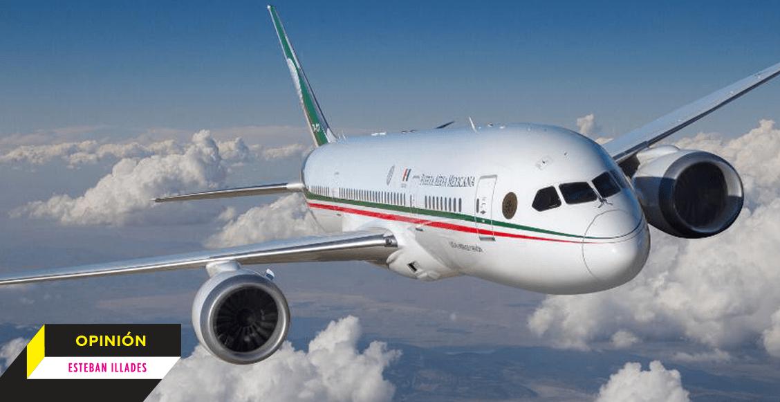 Con peras y manzanas: vender el avión presidencial