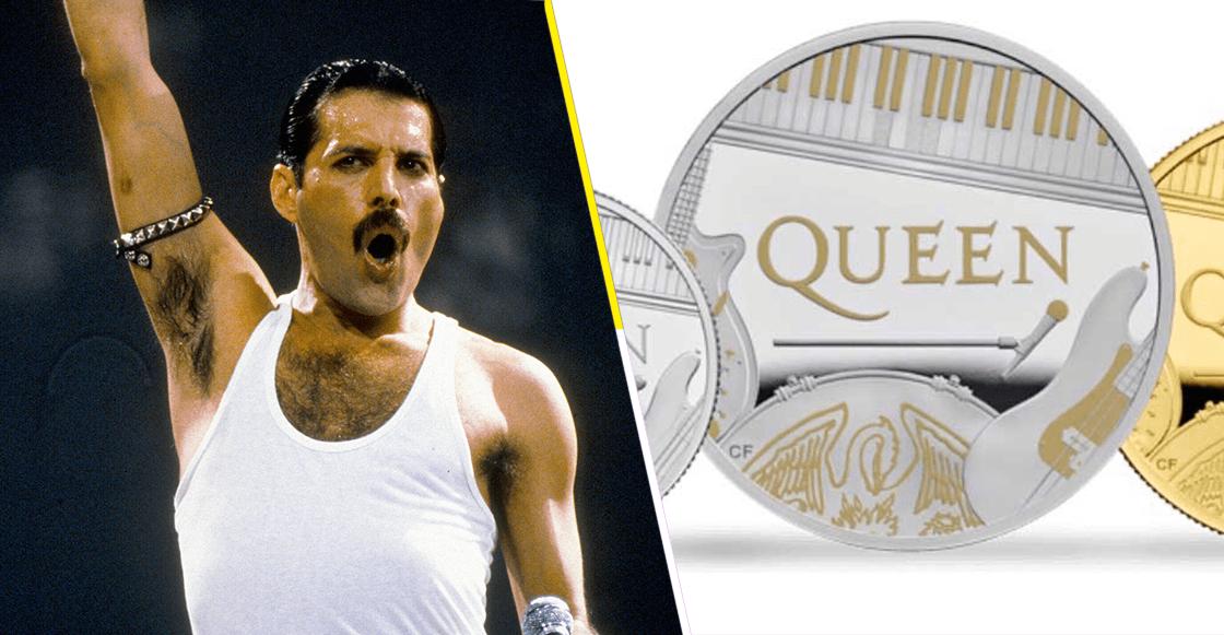 Para la morralla: ¡Queen tiene su propia moneda en el Reino Unido!
