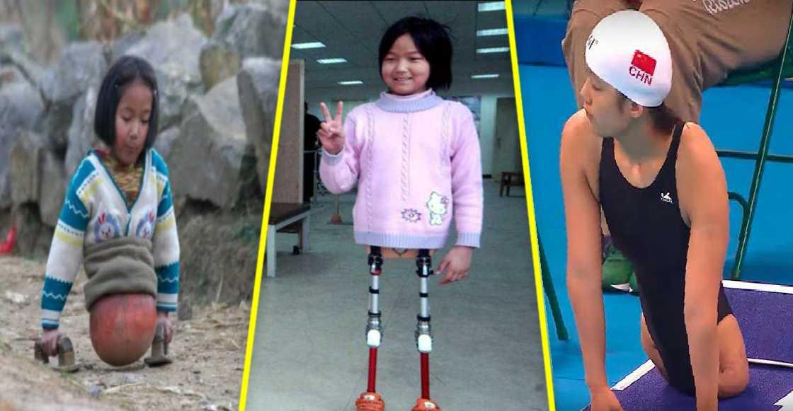 La estremecedora historia de Qian Hongyan, 'la niña pelota'