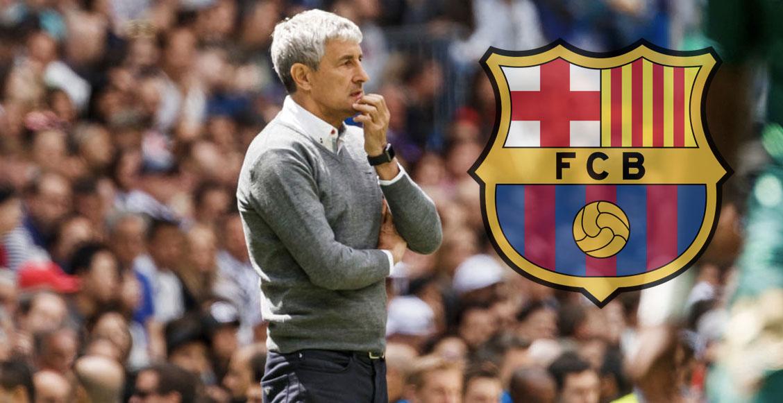 ¡Está de vuelta! Quique Setién es elegido como nuevo DT del Barcelona