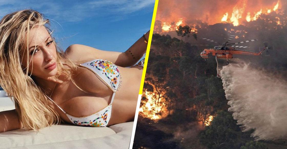 Joven recauda 300 mil dólares para ayudar a los incendios de Australia... ¡vendiendo sus nudes!