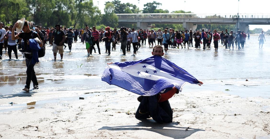 caravana-migrante-rio-suchiate-frontera