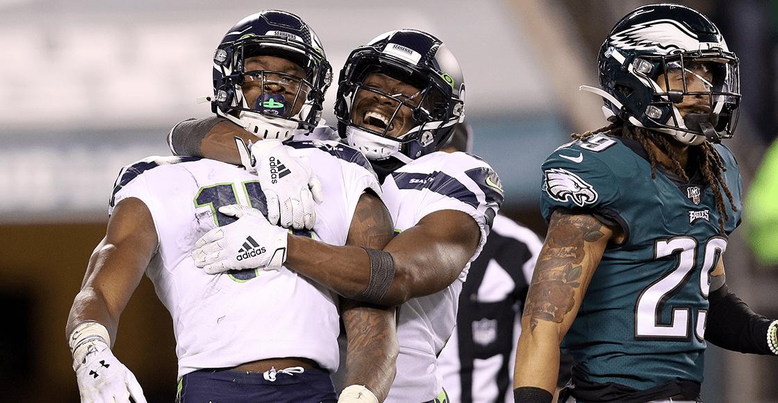 Los Seahawks son los últimos invitados a la ronda divisional tras echar a los Eagles