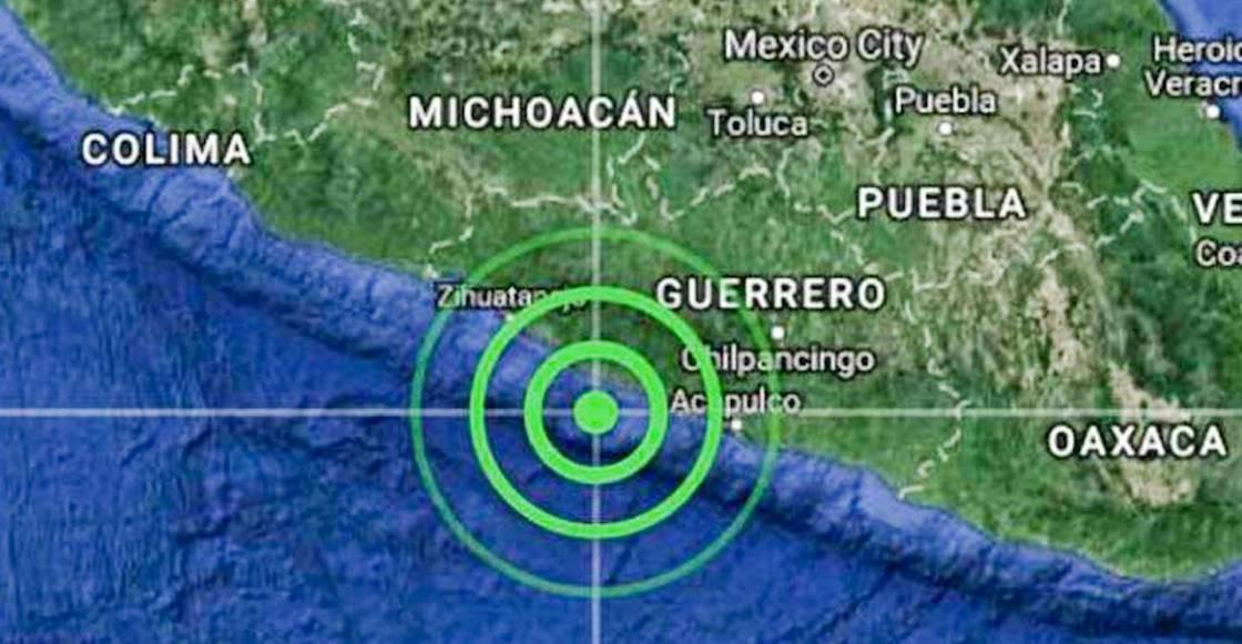 Sismo de 5.1 grados se registra en Guerrero; hasta el momento no hay daños