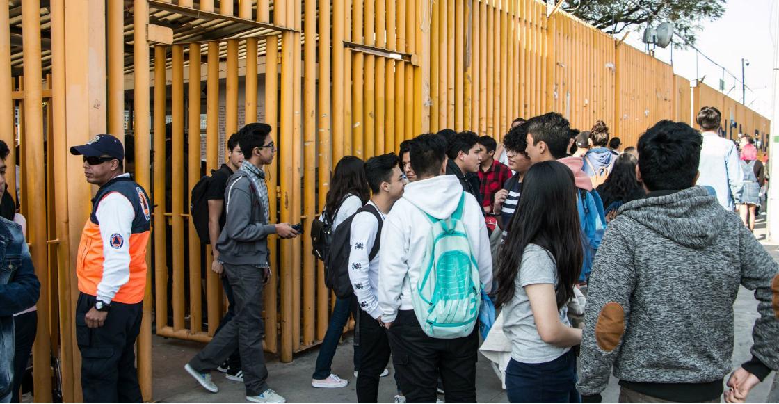 UNAM convoca a profesores y alumnos de Prepa 9 a clases extramuros