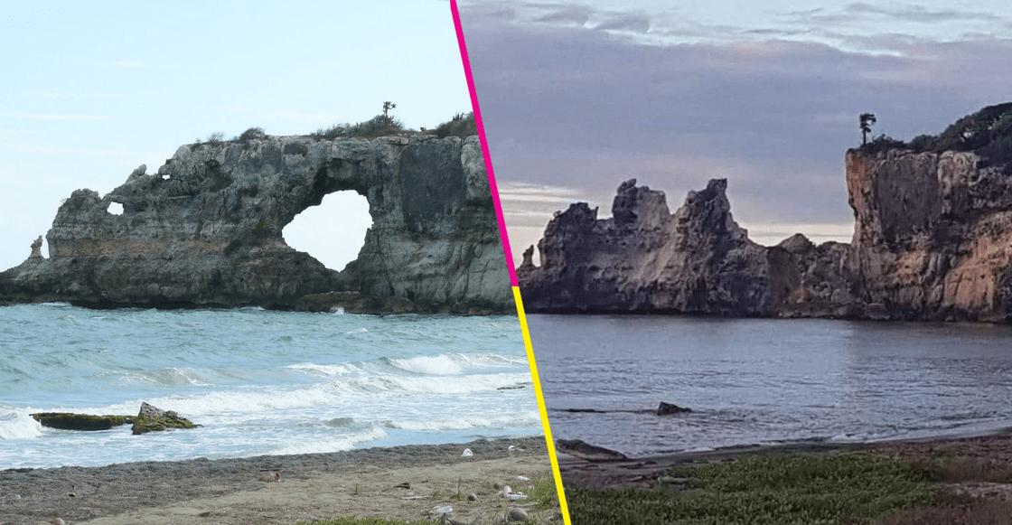 Se derrumbó la 'Ventana al Caribe' tras sismo en Puerto Rico