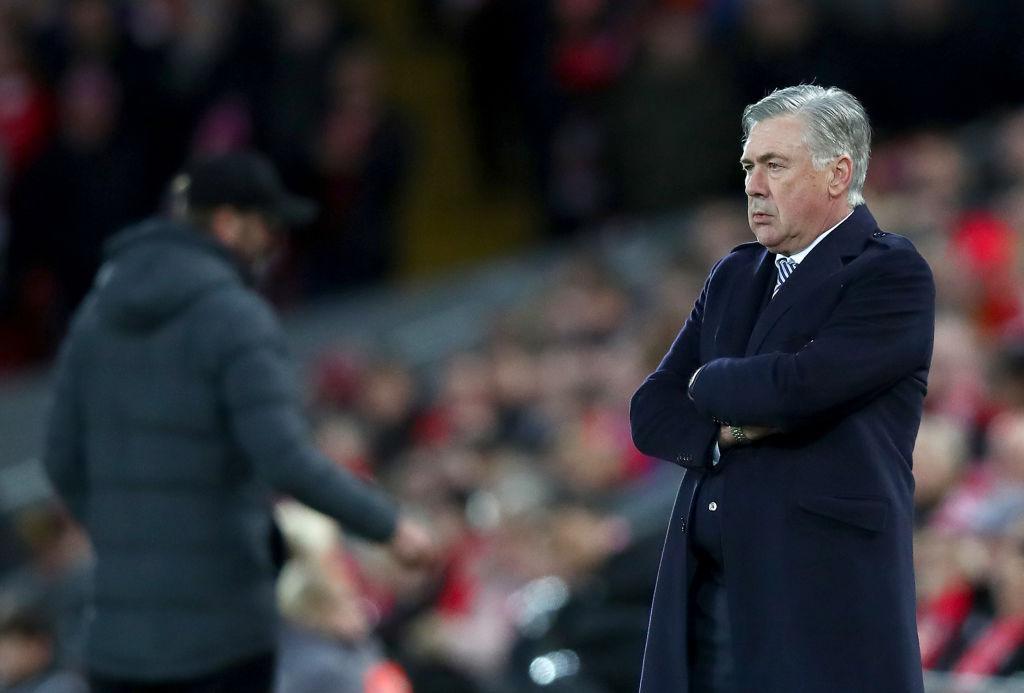 Primer fracaso: El Everton de Ancelotti fue eliminado de la FA Cup por el Liverpool