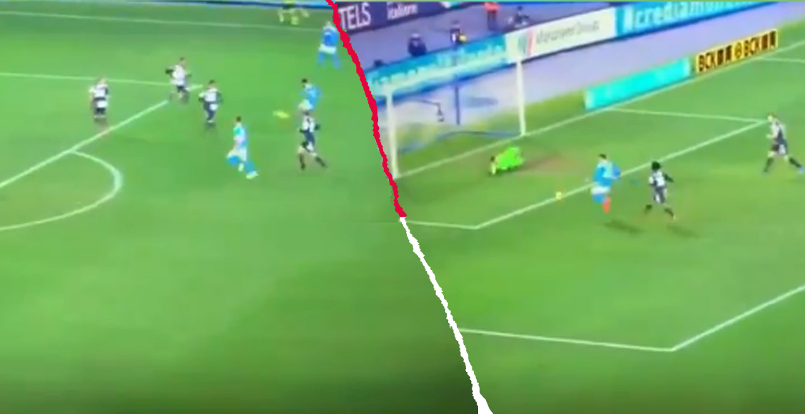 ¡Al centro no! Napoli derrotó a la Juventus tras error de Szczesny y golazo de Insigne