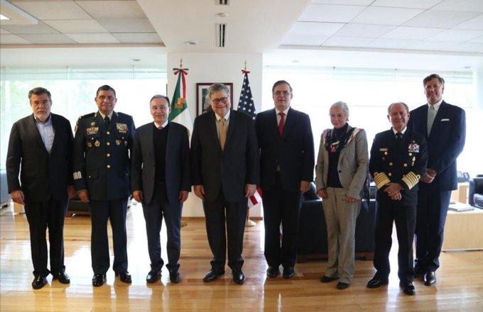 Altos funcionarios de la 4T y fiscal general de EU acuerdan programa contra tráfico de armas