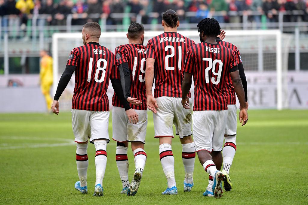 El récord que Zlatan Ibrahimovic rompió con el AC Milan