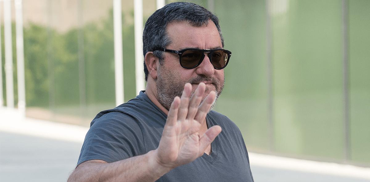 """Mino Raiola atacó a la FIFA y dijo que el mercado de fichajes es """"una trata de personas"""""""