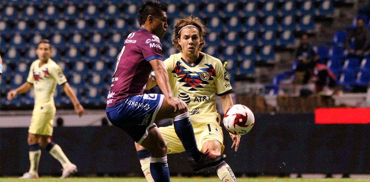 El VAR y Bruno Valdez salvaron al América en Puebla