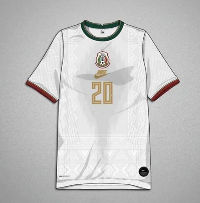 Un diseñador fusionó el jersey de Mexico con trajes típicos de México y el resultado es espectacular