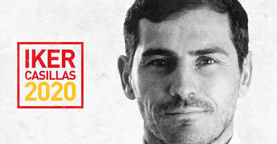 Iker Casillas confirmó candidatura para ser presidente de Federación española