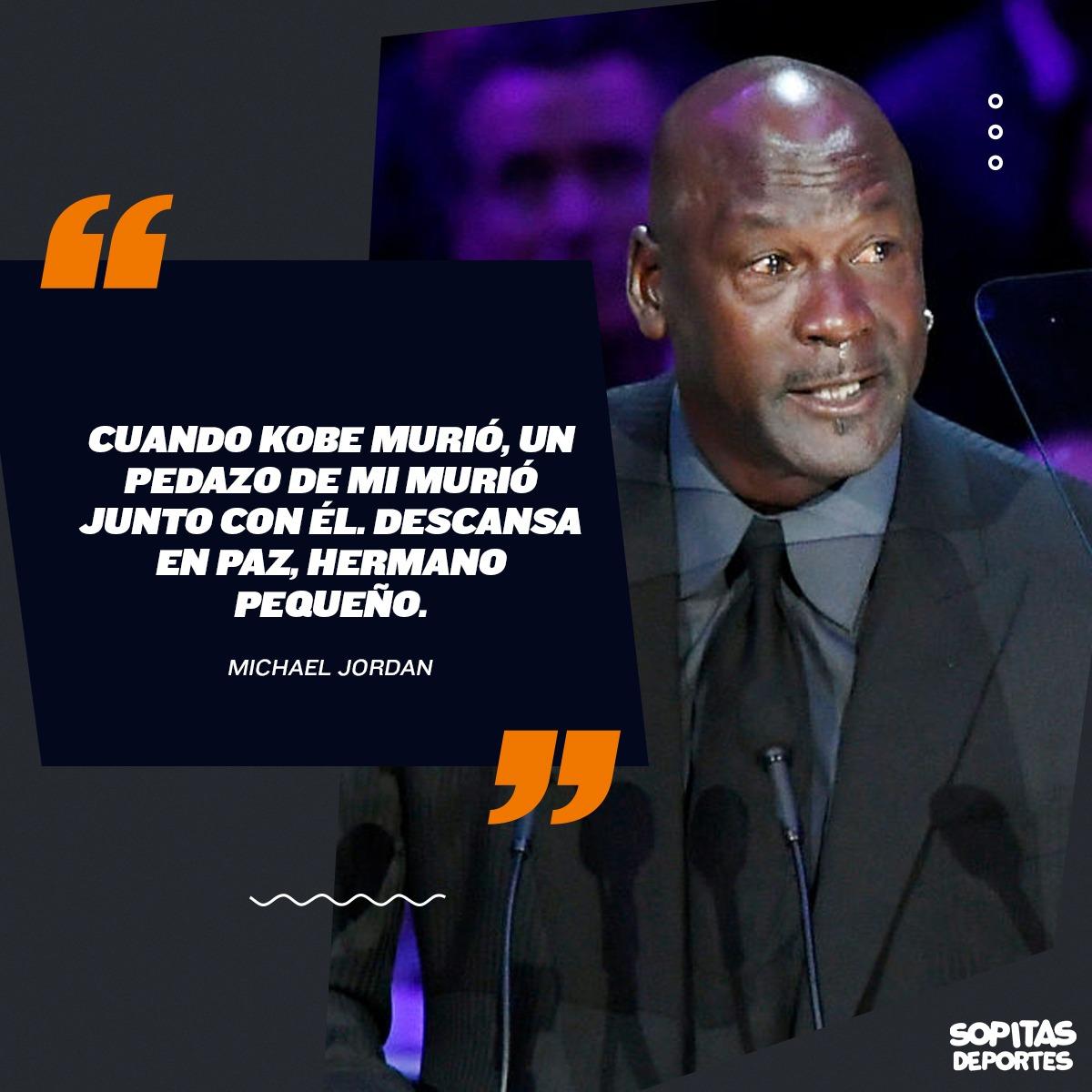 Acá te dejamos el discurso completo de Michael Jordan en el memorial a Kobe Bryant