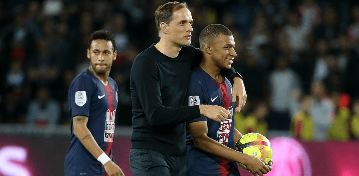 """Thomas Tuchel habló de su """"problema"""" con Mbappé"""