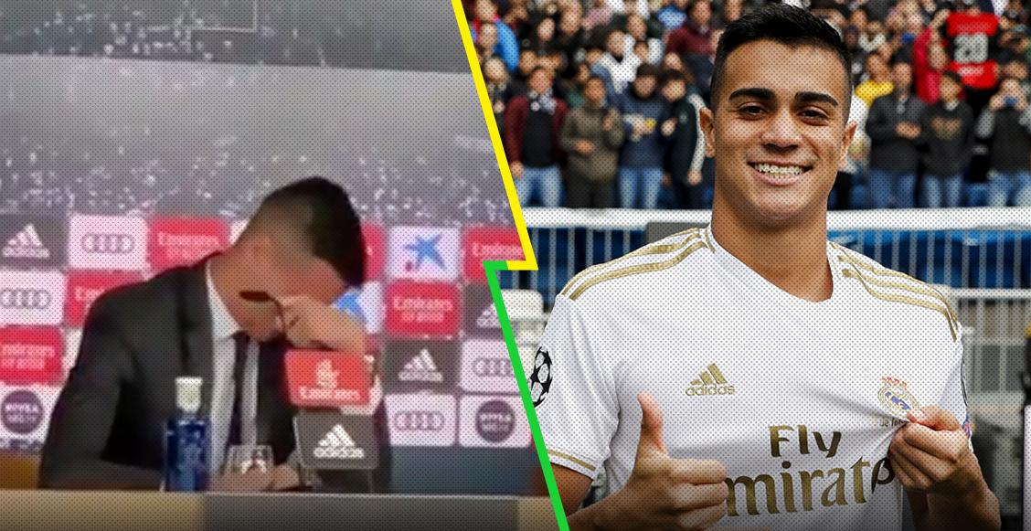 Las lágrimas de Rennier Jesus en su presentación con el Real Madrid