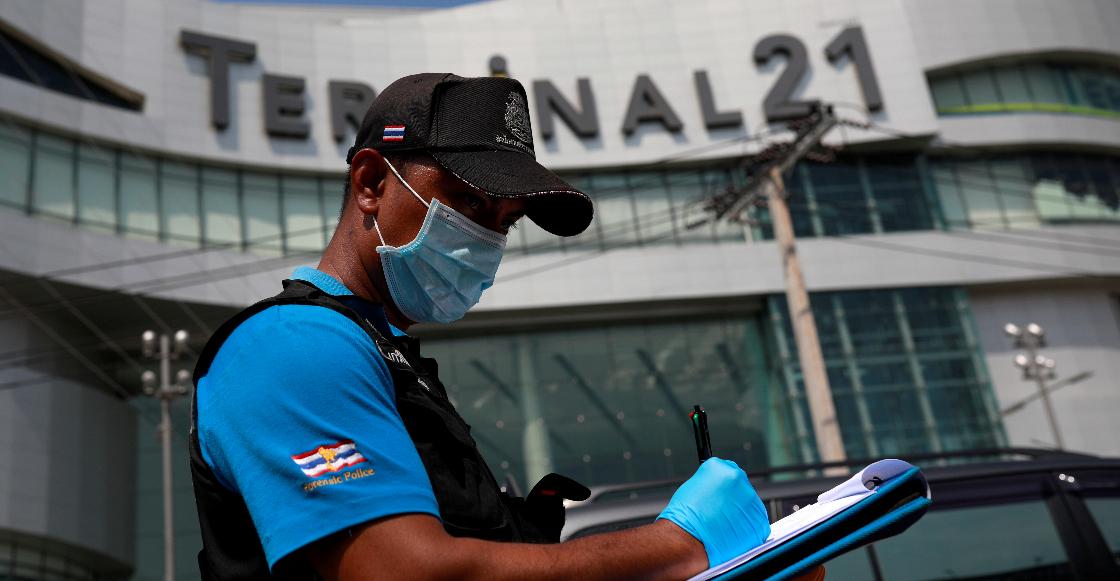 29 muertos además del agresor; el saldo final del tiroteo en Tailandia