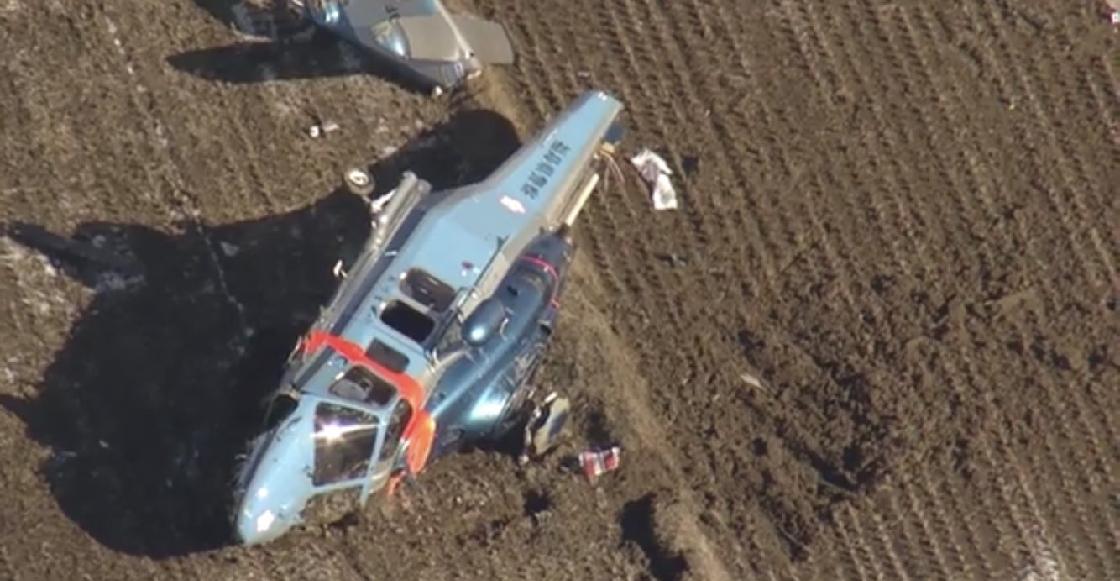 Se desploma helicóptero que trasladaba un corazón para trasplante en Japón