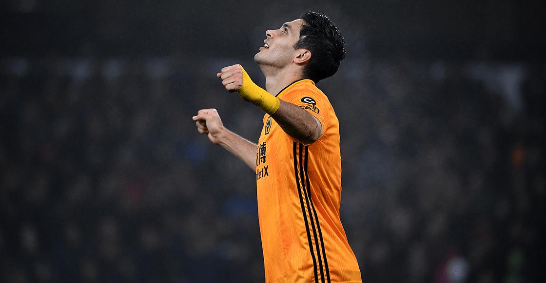 ¡El lobo! Revive el gol de Raúl Jiménez al Leicester City