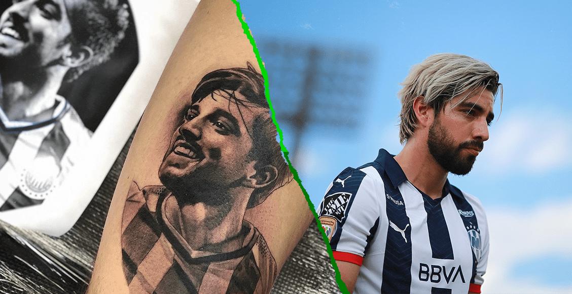 Rodolfo Pizarro respondió al fan que se tatuó su imagen con la playera de Chivas