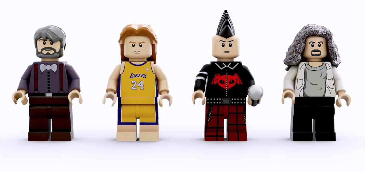Fan diseña un impresionante LEGO de TOOL que puede ser fabricado