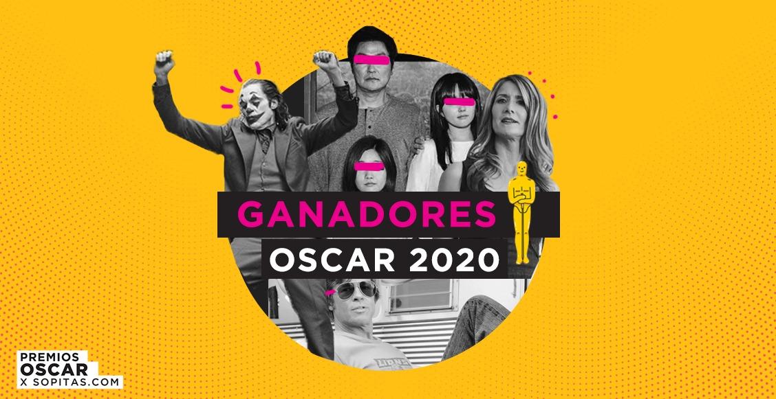 ¡Estos son todos los ganadores de los premios Oscar 2020!