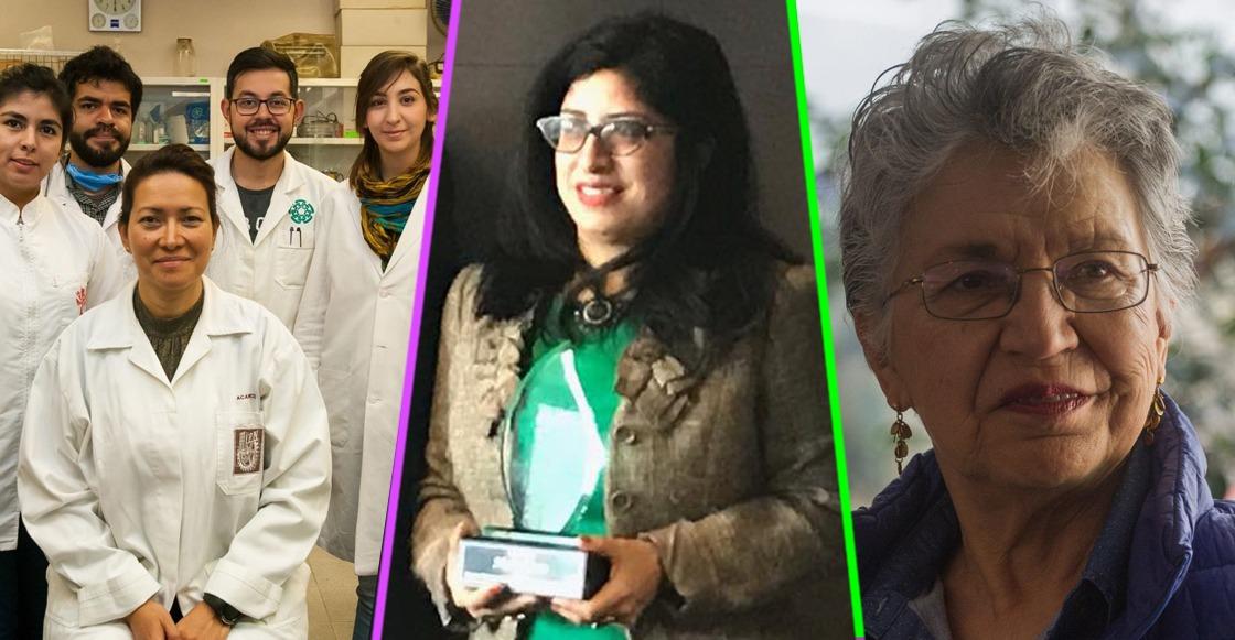 Científicas mexicanas que ponen en alto el nombre de nuestro país
