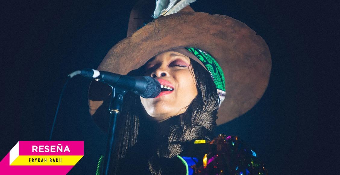 Erykah Badu demostró porqué es la 'reina del neo soul' en Bahidorá 2020
