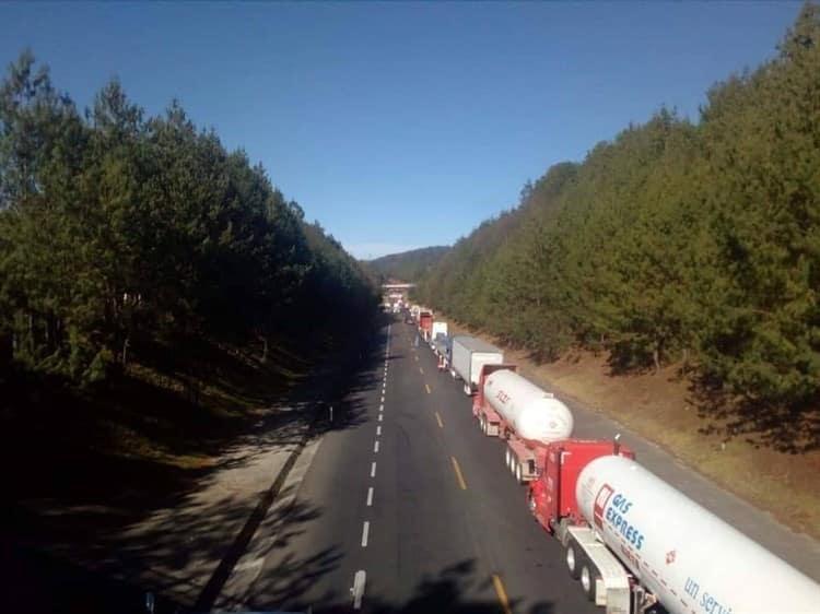 Bloqueo México-Tuxpan
