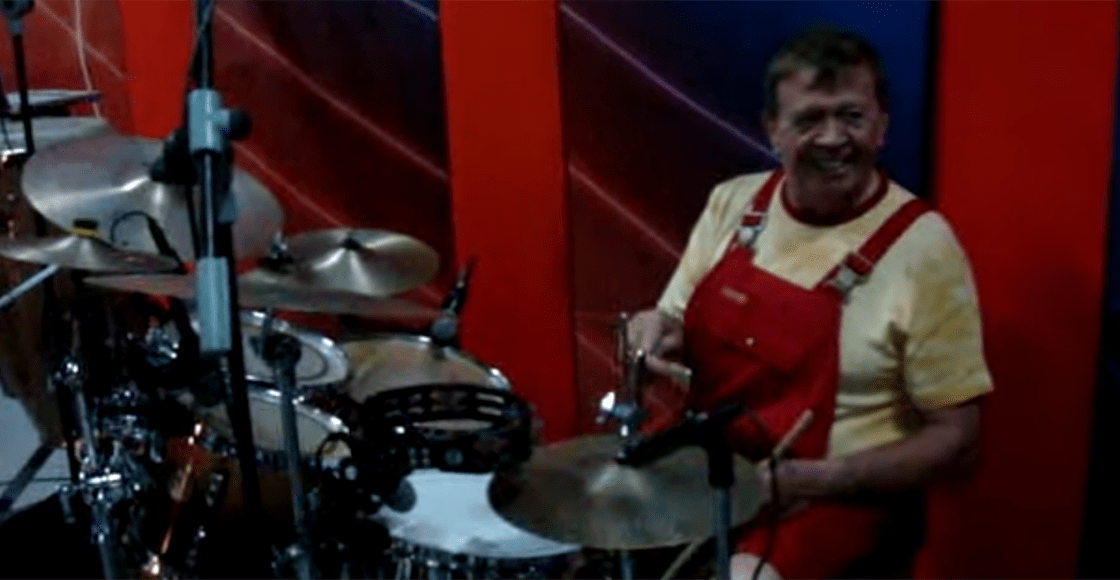 Aunque usted no lo crea: Chabelo iba a ser baterista de jazz... pero lo catafixeó por la televisión