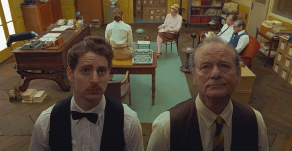 Paren todo: ¡Checa el tráiler de 'The French Dispatch' de Wes Anderson!
