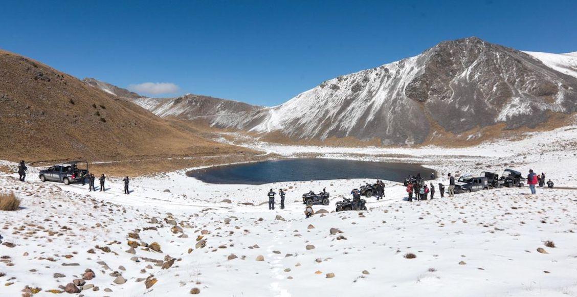 Cesan a funcionario que burló restricciones y armó la fiesta en el Nevado de Toluca