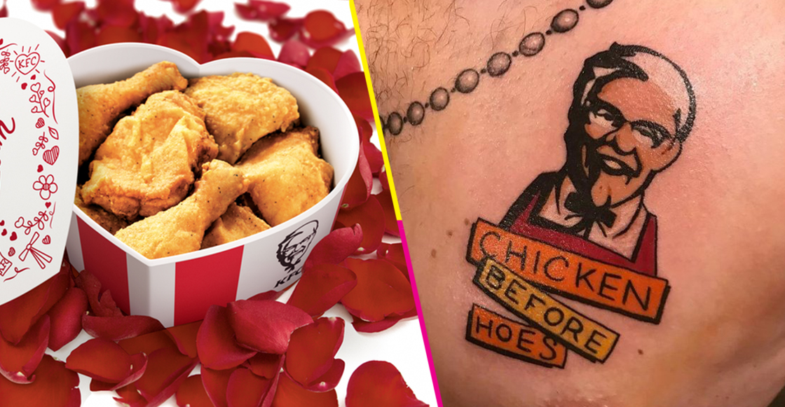 destacada kfc tatuaje forever alone 14 febrero
