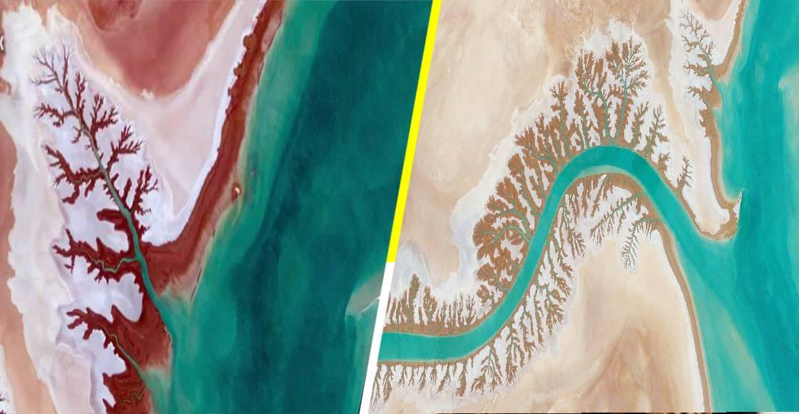 Google Earth liberó mil impresionantes imágenes para fondo de pantalla