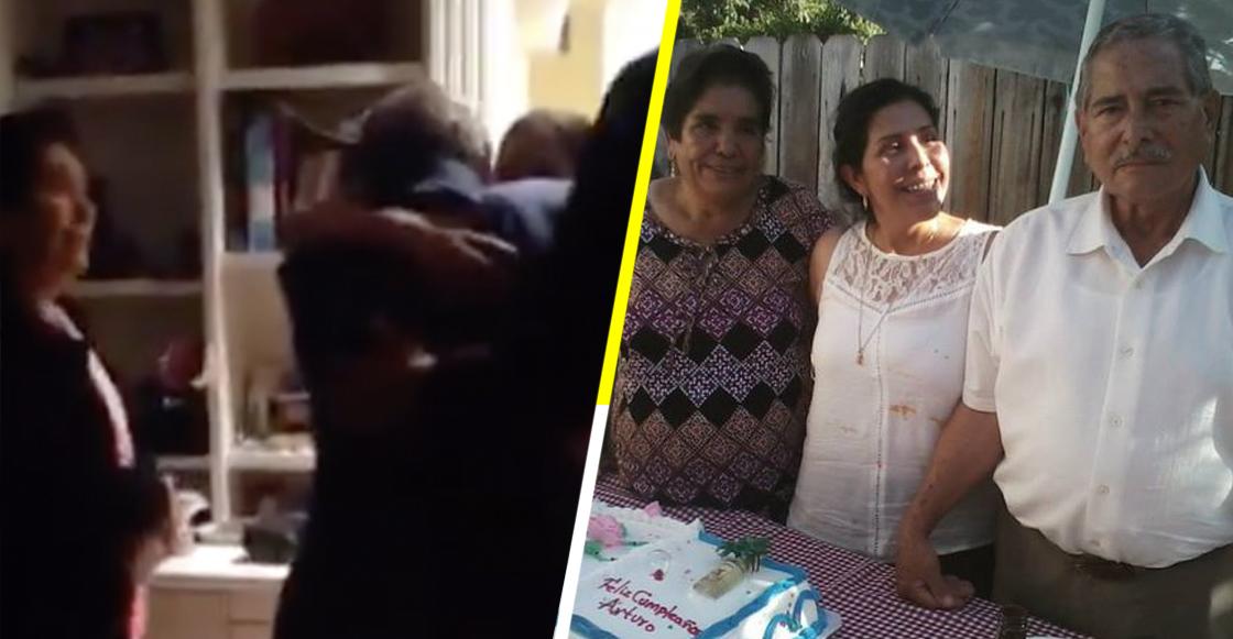 Lagrimita mil: Hijo reúne a su mamá con sus padres después de 30 años de no verse