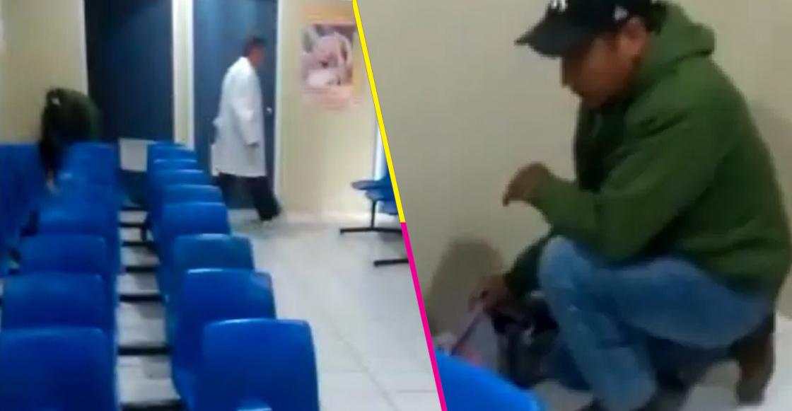 Una mujer tuvo que dar a luz en una sala de espera de un hospital en Michoacán