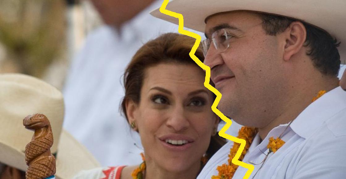 Javier Duarte y Karime Macías se divorciaron el año pasado
