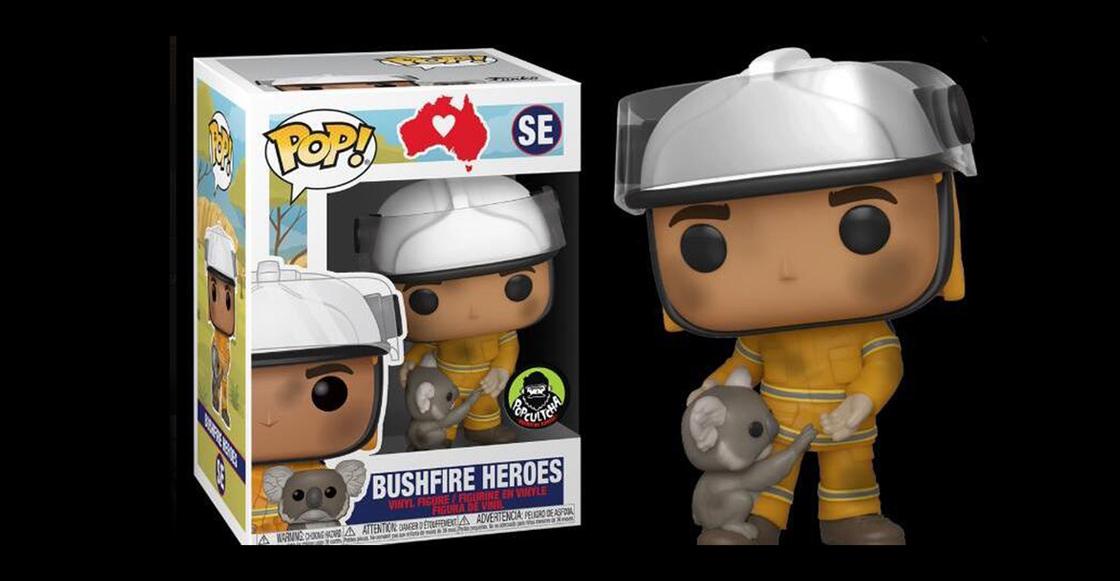 ¡Funko lanza figura de bombero para ayudar a animales afectados por incendios de Australia! ❤️