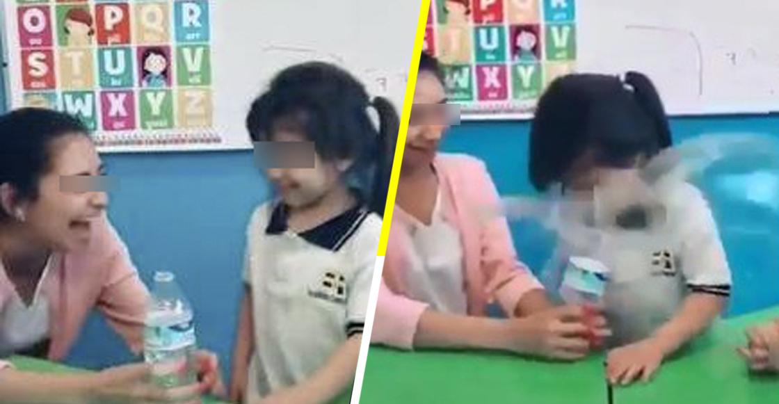 Y todo por likes: Despiden a maestra por hacer 'bromita' a niña de Kinder