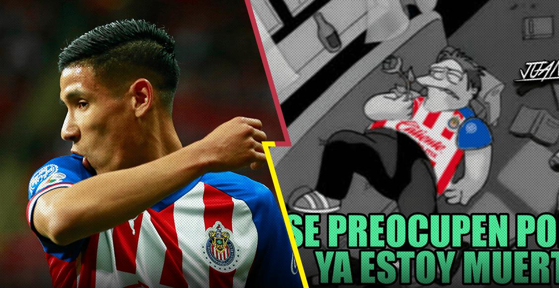 Los memes atacan a Uriel Antuna y a las Chiva-lácticas tras derrota ante Cruz Azul