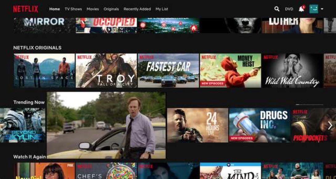 Ya puedes deshabilitar la reproducción automática de trailers en Netflix