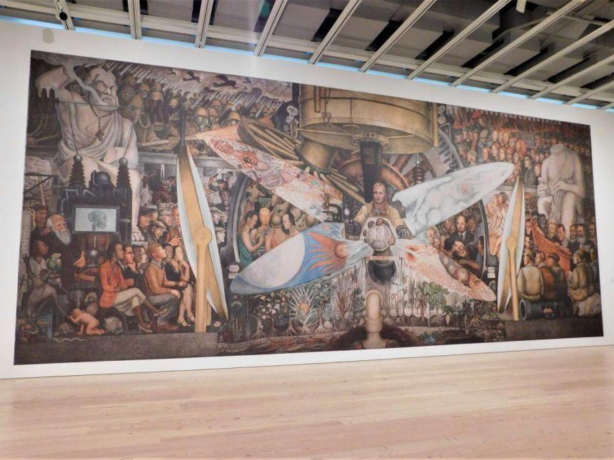El Museo Whitney exhibe las obras de muralistas mexicanos que dieron paso a la 'Vida Americana'
