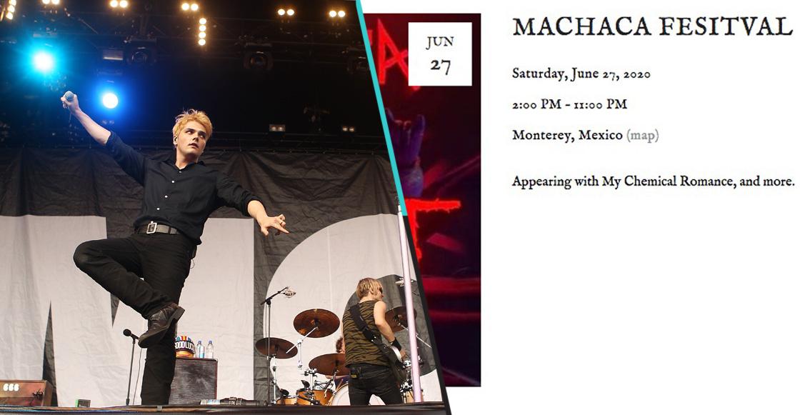 ¿My Chemical Romance se presentará en el Machaca 2020?
