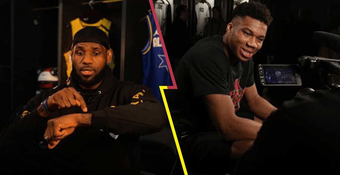 LeBron James vs Antetokounmpo: Así quedaron los equipos para el NBA All-Star Game