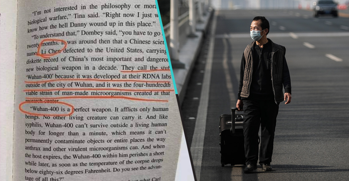 ¡Qué miedo! Una novela de 1981 predijo la llegada de un virus mortal en Wuhan