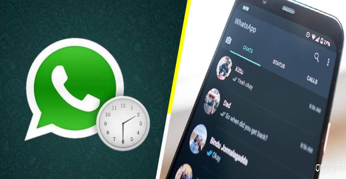 Cómo programar mensajes y activar el modo nocturno en WhatsApp
