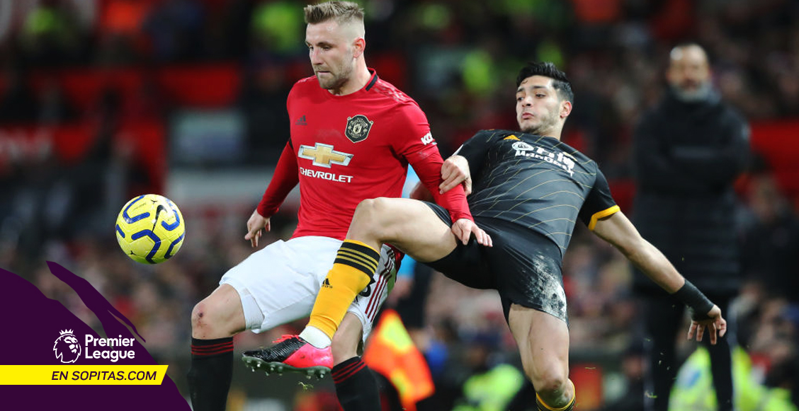 ¡Invencibles! Wolves mantiene su invicto ante el Manchester United en la Premier League